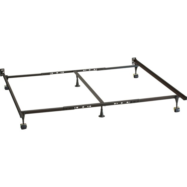 Queen King California King Bed Frame + Reviews | Crate and Barrel