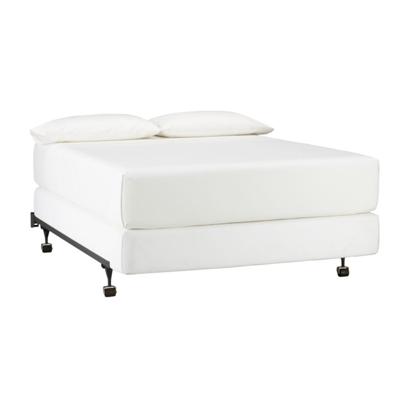 bed frame crate and barrel