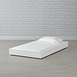 Hampshire White Trundle Bed