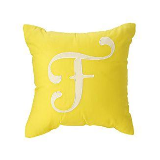 U0027Fu0027 Typeset Throw Pillow. U0027
