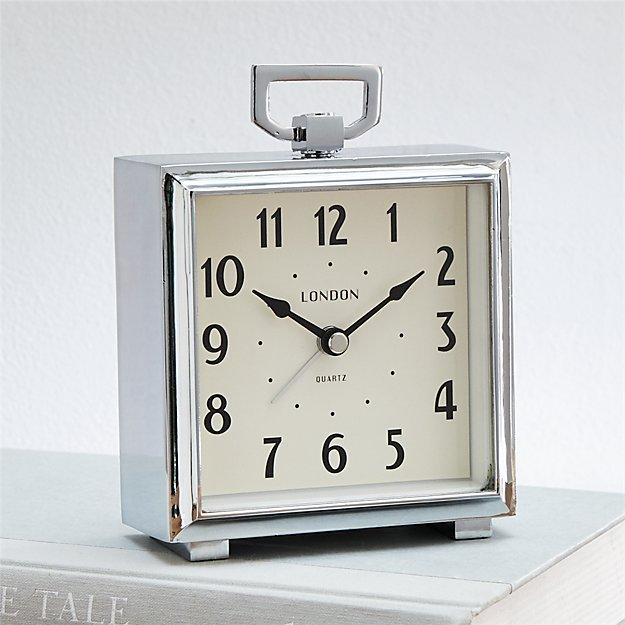 Bedside Alarm Clock In Clocks Reviews Crate And Barrel