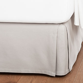 Grey Bedskirt
