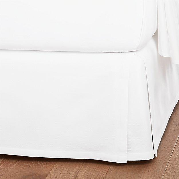White Bedskirt - Image 1 of 1