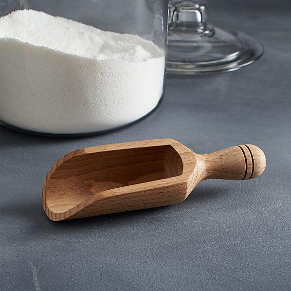 Beech Wood Scoop