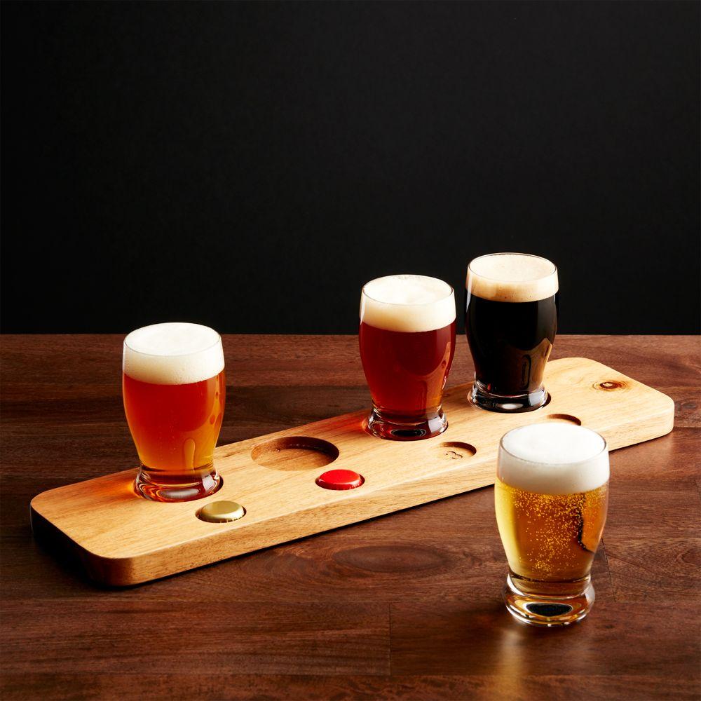 Beer Tasting Set - Crate and Barrel
