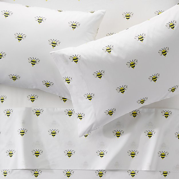 Organic Bee Full Sheets Reviews Crate And Barrel