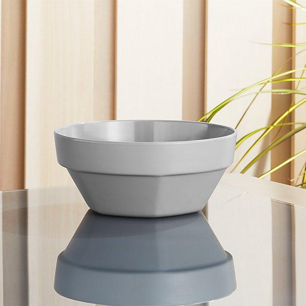 Beldon Grey Melamine Bowl - Image 1 of 5