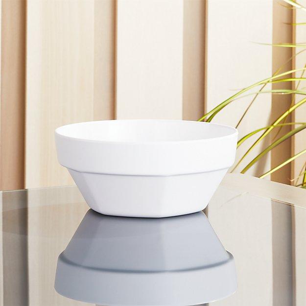 Beldon White Melamine Bowl - Image 1 of 5