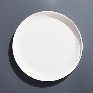 Beldon White Melamine Dinner Plate
