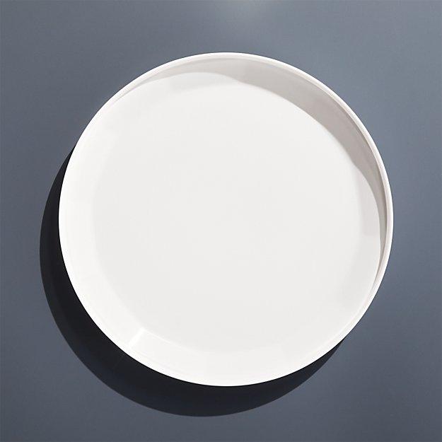 Beldon White Melamine Dinner Plate - Image 1 of 5