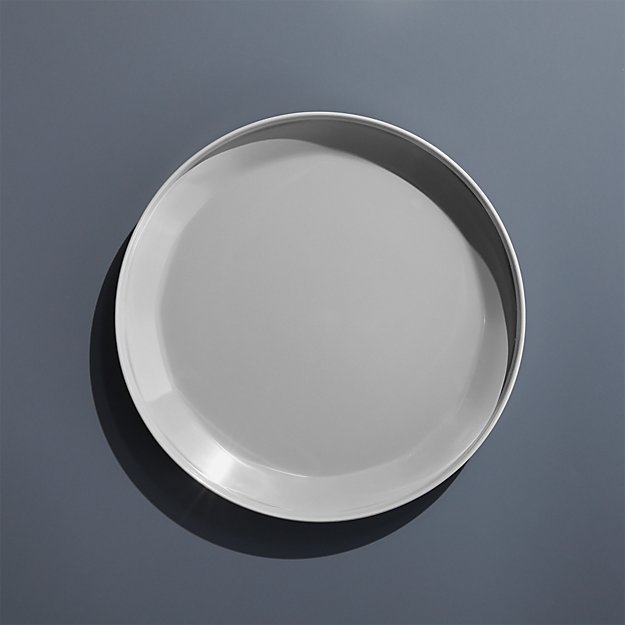 Beldon Grey Melamine Salad Plate - Image 1 of 6