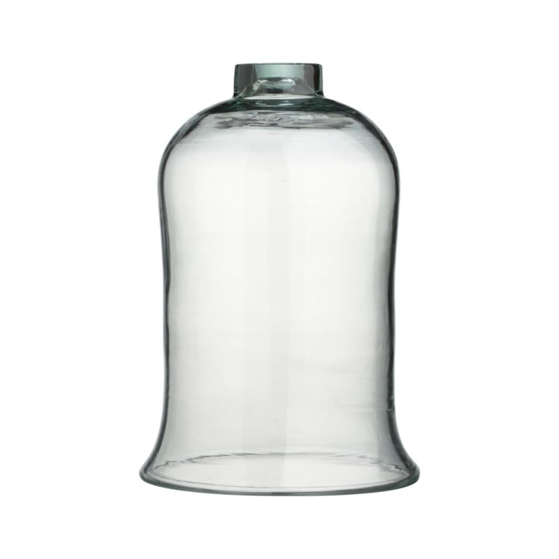 Protect plants in style with this recycled glass bell jar, a handy and attractive way to ward of cold, frost, wind and rain. Also suitable for use as a food cover.<br /><br /><NEWTAG/><ul><li>100% recycled glass</li><li>Hand wash</li><li>For indoor or outdoor use</li></ul>