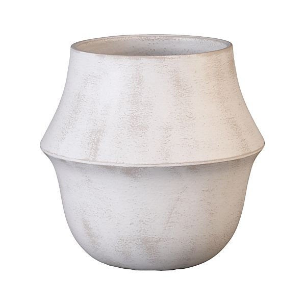 Bell White Pot