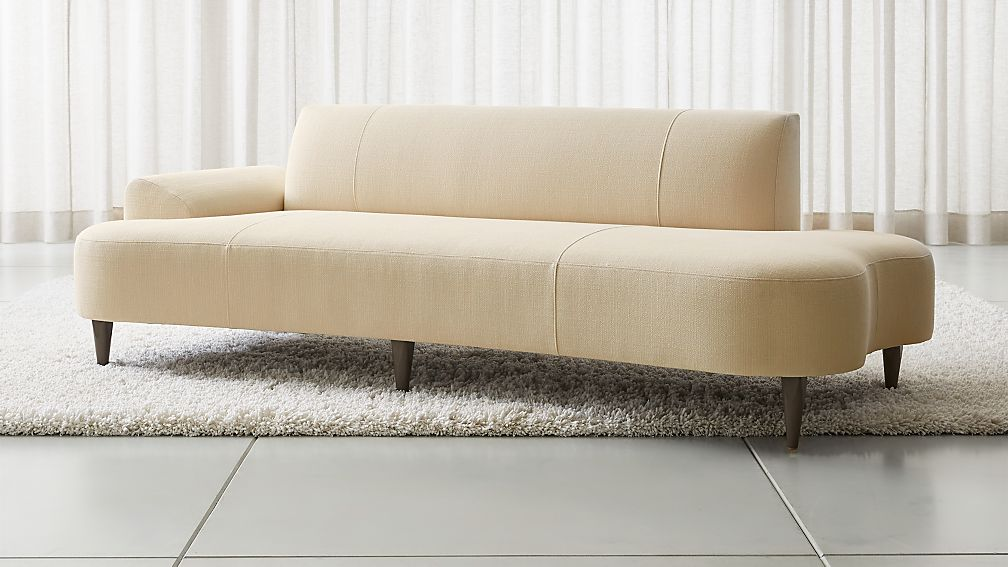 Bella Curved Chaise - Image 1 of 8