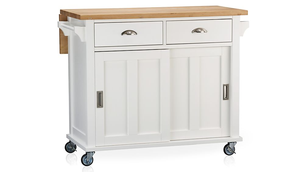 Set of 4 Casters for Belmont Kitchen Island + Reviews | Crate and Barrel