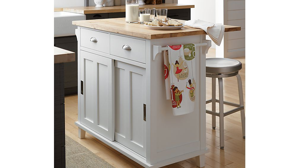 kitchen island crate and barrel belmont white kitchen island crate and barrel 8163