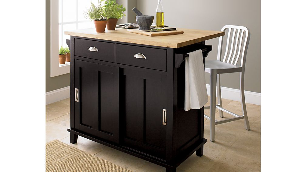 crate and barrel kitchen island belmont black kitchen island crate and barrel 423