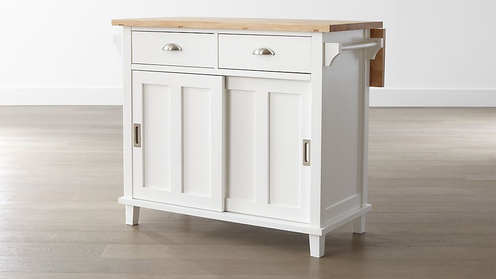how to make a kitchen island cart belmont white kitchen island reviews crate and barrel 9479