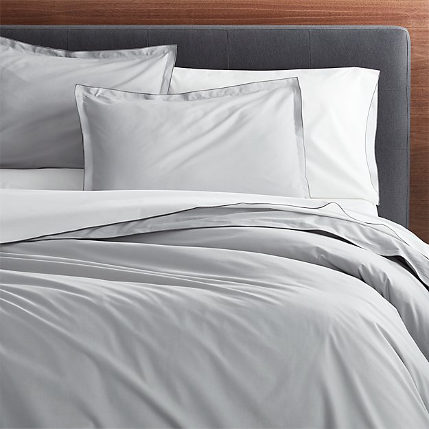 Belo Grey Duvet Covers and Pillow Shams