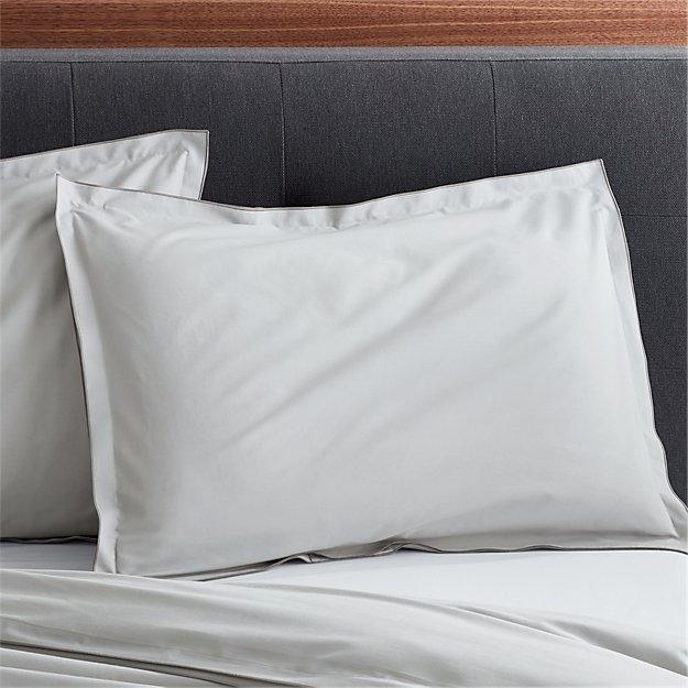 Belo Grey Standard Pillow Sham