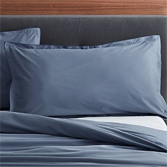 Belo Vintage Blue King Sham