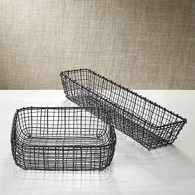 Bendt Iron Serving Baskets - Image 1 of 10