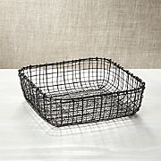 Bendt Iron Square Basket