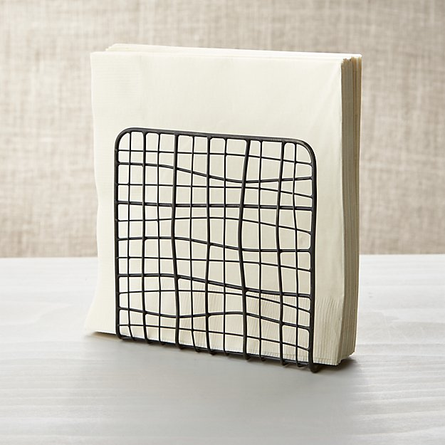 Bendt Iron Wire Napkin Holder