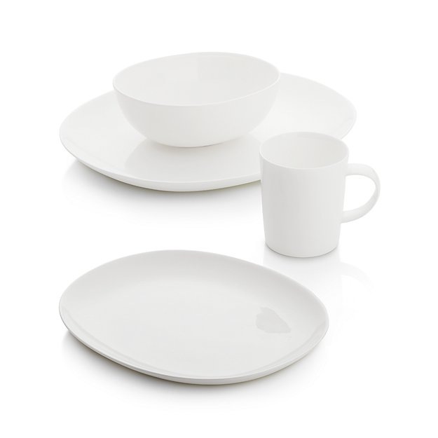 Bennett Oval 4-Piece Place Setting