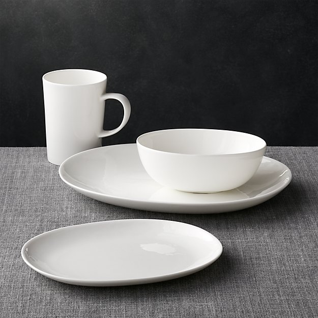 Bennett Oval 4-Piece Place Setting - Image 1 of 3