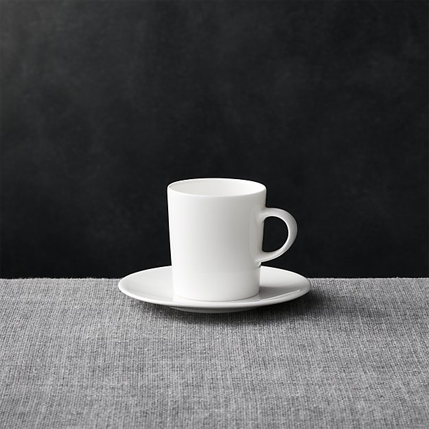 Bennett Espresso Cup and Saucer