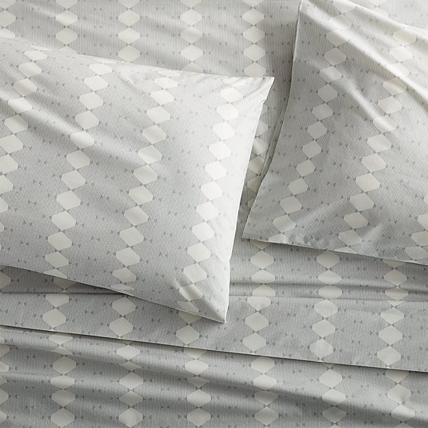 Bennett Grey King Pillow Case, Set of 2