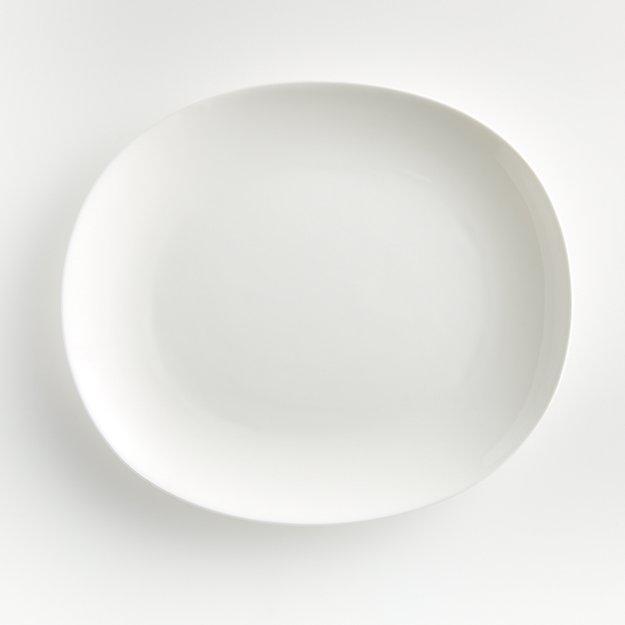 Bennett Oval Dinner Plate - Image 1 of 5