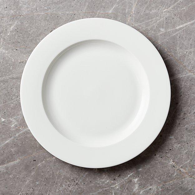 Bennett Rimmed Dinner Plate - Image 1 of 4
