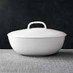 Bennett Oval Serving Bowl with Lid