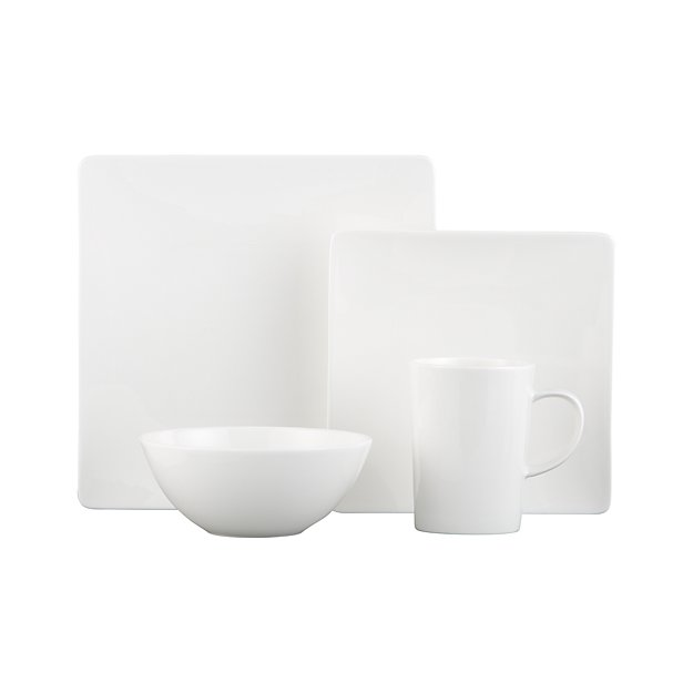 sc 1 st  Crate and Barrel & Bennett Square Dinner Plate + Reviews | Crate and Barrel