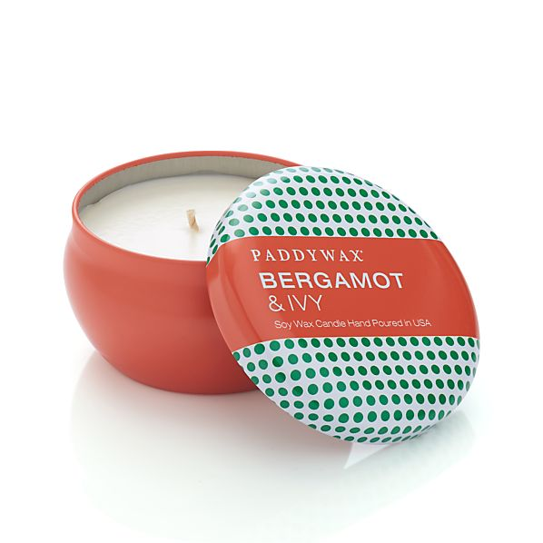 Bergamot and Ivy Scented Candle