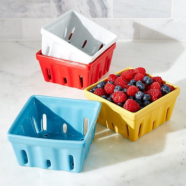 Berry Box Colanders