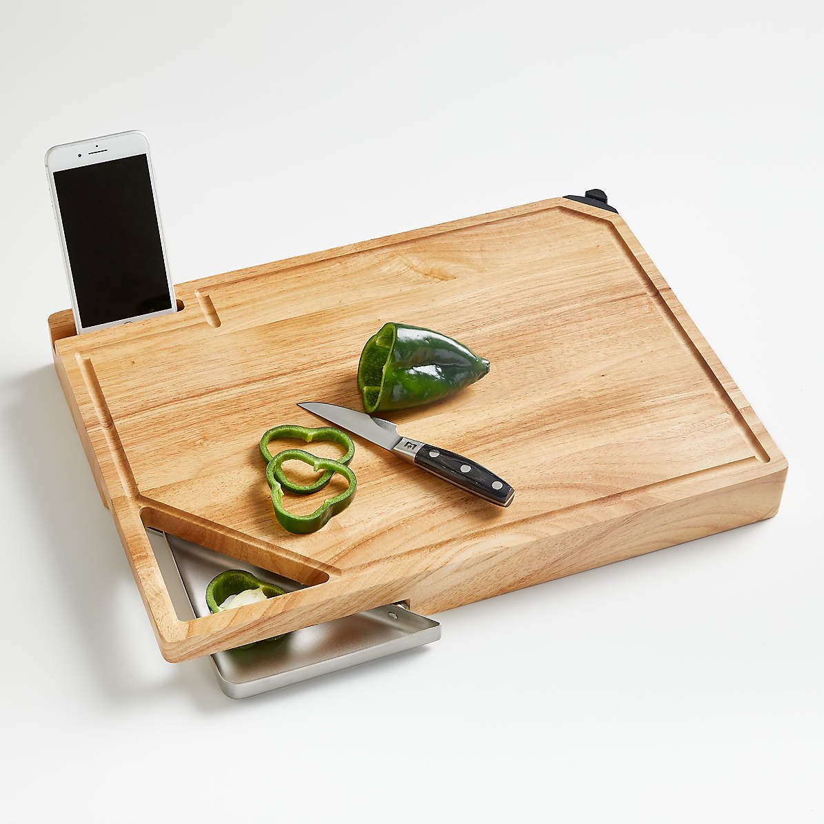 Best Cutting Board With Tray Reviews Crate And Barrel Canada
