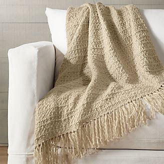 Blankets Amp Throws Cotton Wool And Alpaca Crate And Barrel