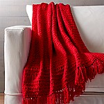 Bexley Red Throw