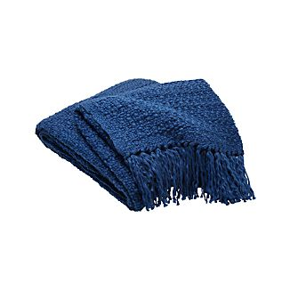 Bexley Blue Throw