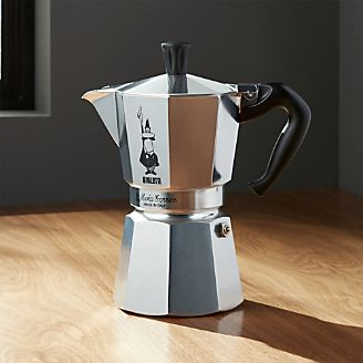 Bialetti R Moka Aluminum 6 Cup Espresso Maker