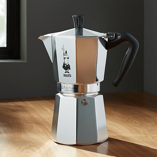 Bialetti ® Moka Aluminum 9-Cup Espresso Maker - Image 1 of 2