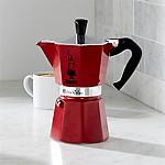 Bialetti ® Red Moka 6-Cup Espresso Maker