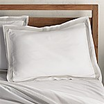 Bianca White/Grey Standard Pillow Sham