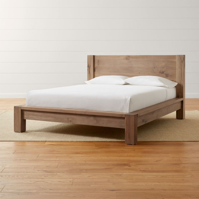 Big Sur Smoke Bed Crate And Barrel