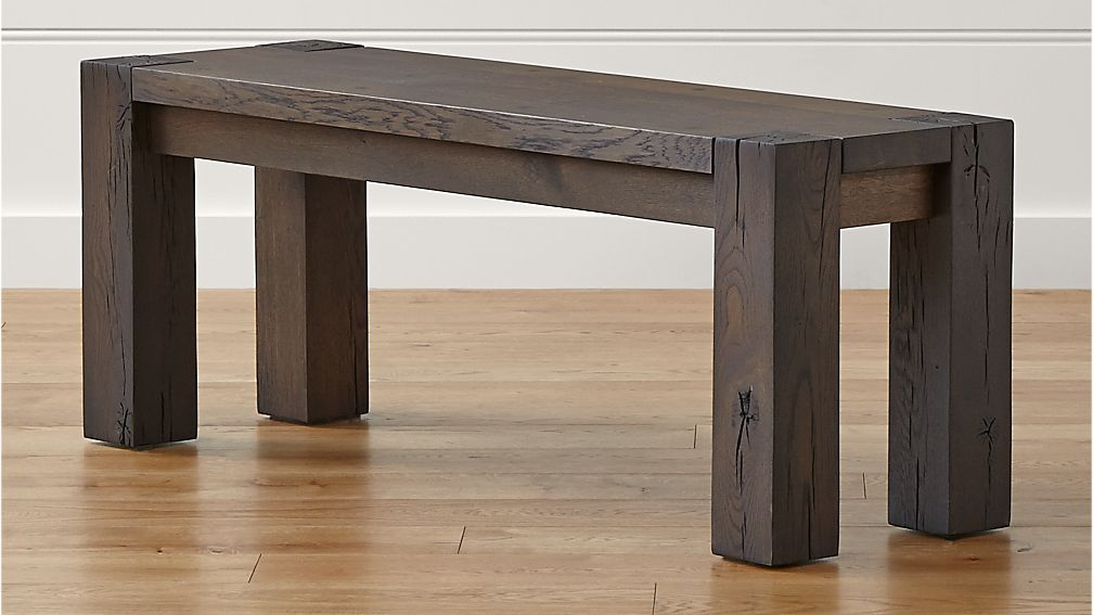 "Big Sur Charcoal 48"" Bench"