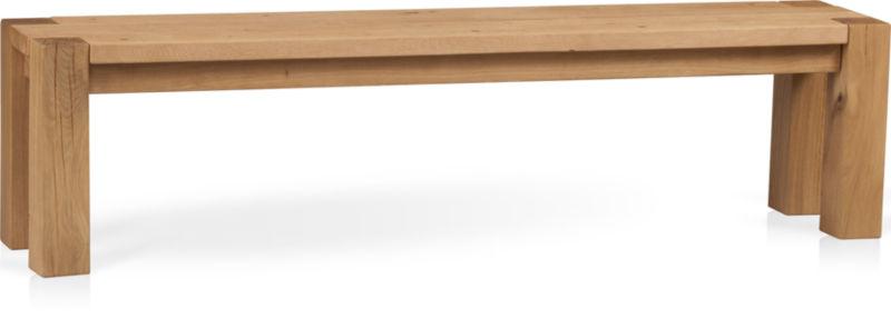 "Big Sur Natural 71.5"" Bench"