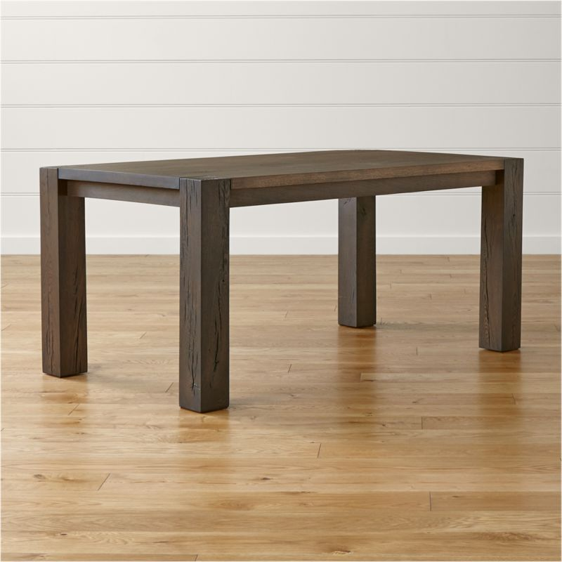 Big Sur Charcoal 65 Dining Table Crate and Barrel